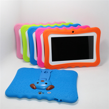 Glavey 7 inch Allwinner A33 Kids Tablet 1024*600 Android 4.4 Quad core 512MB/8GB Bluetooth WIFI colorful crash proof