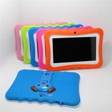 Glavey 7 pulgadas Allwinner A33 Tablet Kids 1024*600 Android 4.4 Quad core 512 MB/8 GB Bluetooth WIFI colorido a prueba de choque