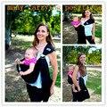 Anel sling Baby Carrier bolsa envoltório recém-nascido a criança 5 em 1 estilingue do bebê respirável QuickDry manduca Baby envoltório marsupio 5 cores