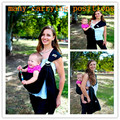 Anillo de la honda portabebés la bolsa del abrigo del recién nacidos-to-toddler 5 en 1 honda del bebé transpirable de secado rápido de bebé manduca Wrap marsupio 5 colores