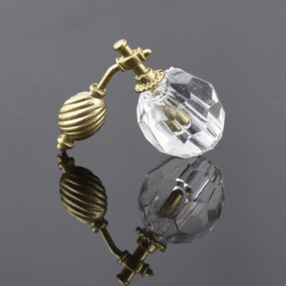 Miniature-Perfume-Bottle Dresser-Decoration Dollhouse Bedroom Transparent Cute 1/12