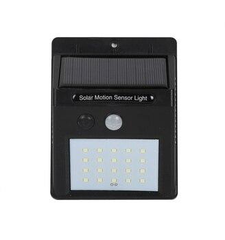 Солнечный Прожектор 20 светодиодный PIR датчик движения настенный светильник на солнечной энергии Открытый энергосберегающий уличный двор о...