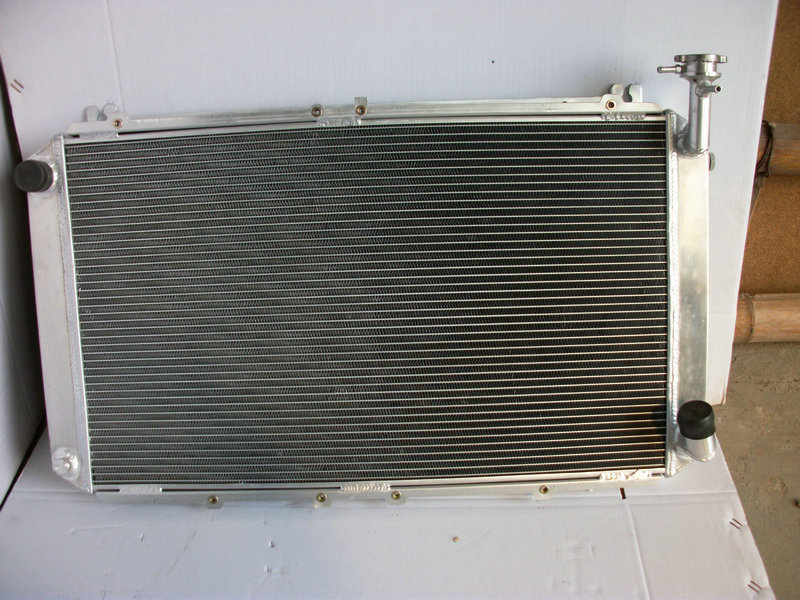 High Quality 3 ROW 52MM Aluminum Radiator For Nissan GQ PATROL Y60 4 2L  Petrol MT