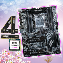 Motherboard CPU RAM bundle Runing X79 motherboard with 8 RAM slots Intel core i7 3960X 3.3GHz brand new memory 32G(4*8G) 1600MHz(China)