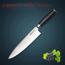 LD 8″ inches chef knife Damascus kitchen knives high quality VG10 Japanese steel chef knife wood handle free shipping