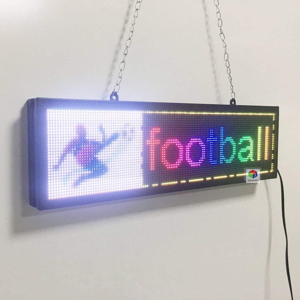 Электрический Дисплей текстовое изображение логотип доска новый Крытый SMD полный светодио дный LED Бизнес открытый знак