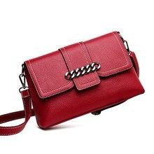 Fashion Messenger Flap Women Shoulder Bag Chain Leather Female Luxury Handbag Women Bags Designer Clutch Envelope Crossbody Bag цена