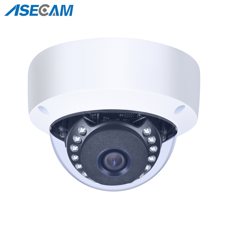 New 4MP H.265 HD IP Camera Onvif Indoor White Metal Dome Waterproof CCTV PoE Network P2P Motion Detection Security Email Alarm new super hd 4mp h 265 5mp security ip camera onvif metal bullet waterproof cctv outdoor poe network email image alarm ipcam