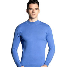 100% Wool Sweater Men 2016 New Arrival Men's Slim Casual O-neck Cashmere Wool Sweater Jersey Pullover