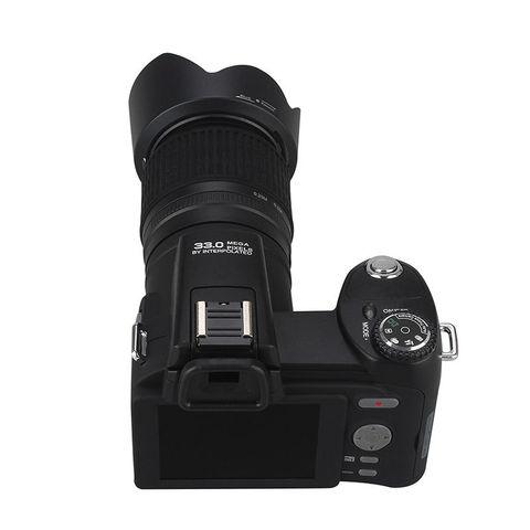 POLO D7200 Digital Camera 33MP Auto Focus Professional DSLR Camera Telephoto Lens Wide Angle Lens Appareil Photo Bag Tripod Lahore