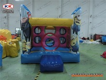 inflatable mini bouncer for family use inflatable small size trampoline jumping bouncer for kids or house garden use