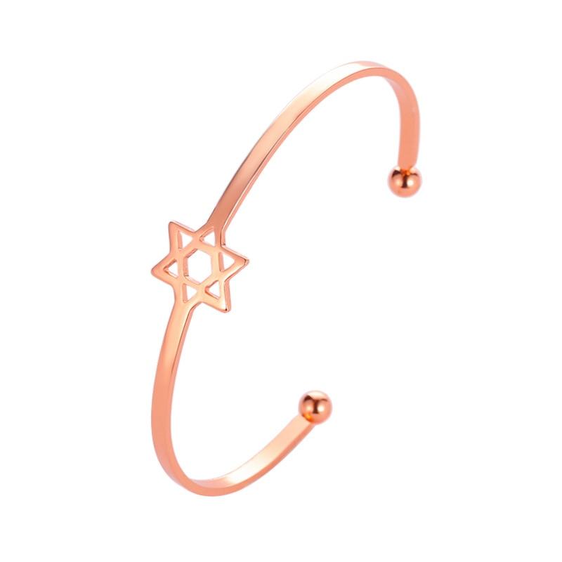 Роскошные браслеты из нержавеющей стали из розового золота, женские браслеты с сердцем, подвеска любовь, браслет для женщин, пара, женская бижутерия в подарок - Окраска металла: 0790