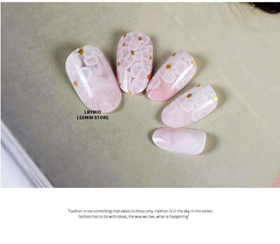 Mármol rosa acrílico flor blanca del borde polvo de oro Prensa en ...