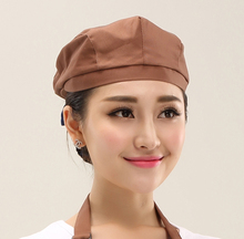New Arrival Hotel Chef Service Beret Cap Male and Female General Restaurant Waitress Working Cap Chef Accessories Hat