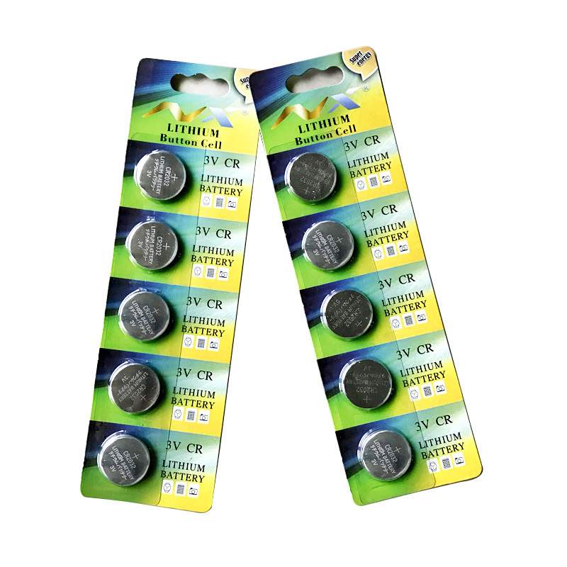 5 Pcs/Lot CR2016 3V Lithium Battery Coin Cell Button For LED Dog Collar Electronic Parts Etc