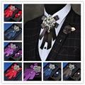 Desgaste Noivo Do Casamento Gravata Dos Homens Formal Bowknot Flor Silm Cravate Gravata Corbatas Noeud Papillon Pajaritas