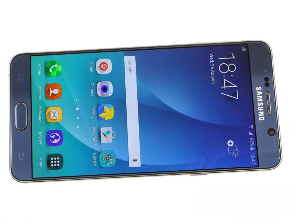Samsung Galaxy Note 5 N920A/T noyau Octa 5.7 pouces 4 go de RAM 32 go ROM 16.0MP LTE 4G Android téléphone mobile débloqué - 3