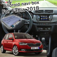 Lsailt Android GPS navigation box for Skoda Fabia MQB MIB MIB2 system 6.5 8 9.2 video interface box with youtube