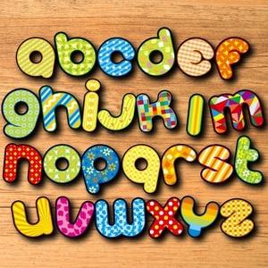 Image 4 - Alphabet réfrigérateur aimant Souvenir pour enfants dessin animé 3d animaux autocollants sur le réfrigérateur magnétique lettres et chiffres autocollants
