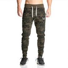 La alta calidad pantalones Gymshark hombres gasp entrenamiento culturismo ropa de camuflaje ocasional pantalones joggers pantalones de chándal flacos