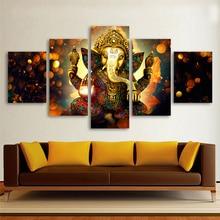 5 Pieces Elephant God Ganesha Pictures