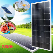 150W High -efficiency Mono Solar Panel for 12V Battery Charge Power Supply