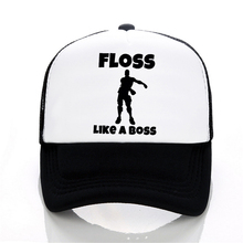 FYDTQZYHY classic Gaming Floss Like Boss letter Print Baseball caps Trucker  cap 29d7224c1c8a