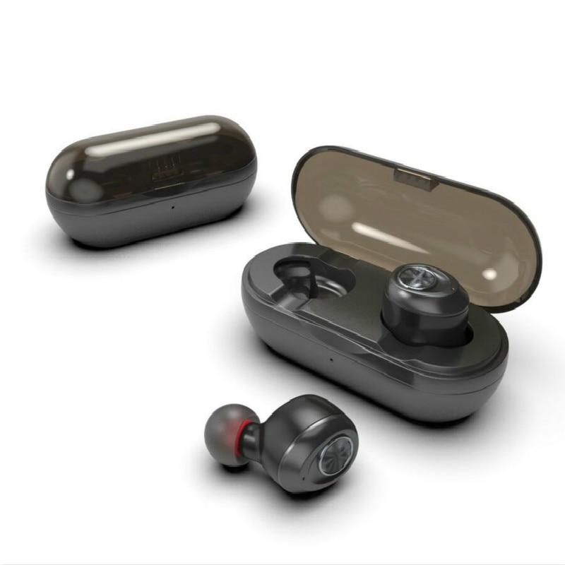 RAVI Capsule mini TWS sans fil écouteurs V5.0 Bluetooth écouteur casque basse profonde stéréo son Sport écouteur pour Samsung Iphone