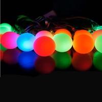 5 m LED flashing string lights decorative ball Starry Christmas holiday lights decorative lights wedding