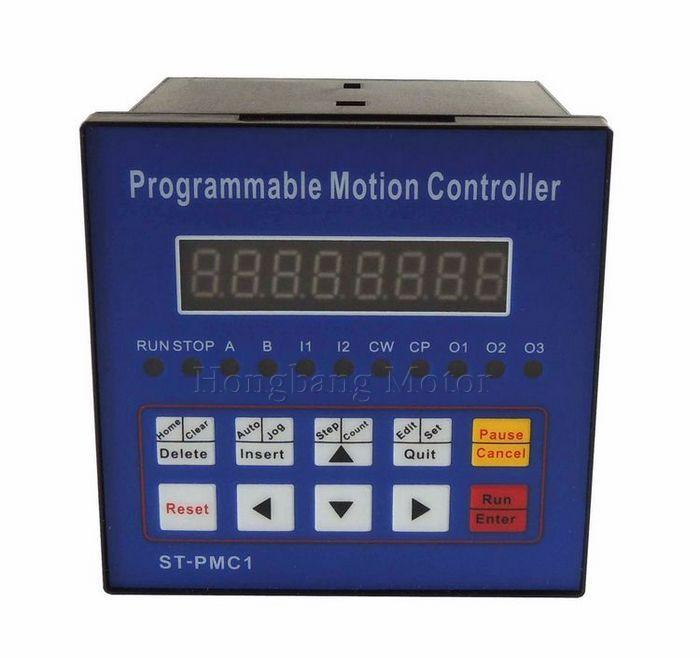 Frete grátis CNC Stepper motor controlador Controlador de Movimento Do eixo Único controlador programável ST-PMC1