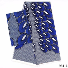 Fashion Ankara Clothing African Wax Print Fabric 4yards+2yards African Chiffon Fabric Silk Satin Fabric Free Shipping 931-1 цена