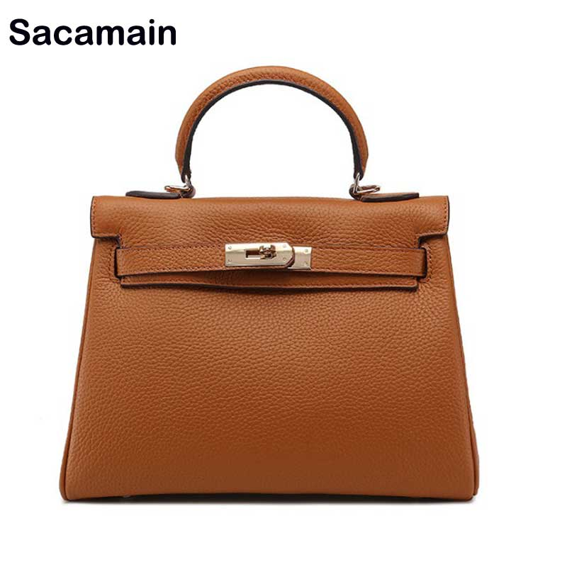 Sac a main Women Leather Handbags Luxury Handbags Women Bags Designer Top-handle Bags Handbags Women Famous Brands Shoulder Bag zooler luxury handbags women bags designer genuine leather shoulder bags famous brands crossbody messenger bag ladies sac a main