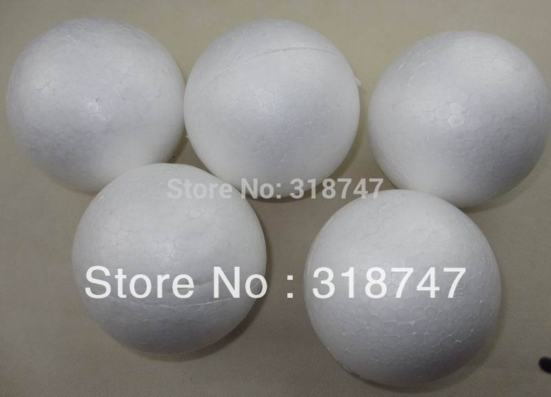 o envio gratuito de 9 cm bola de espuma bola bolas natural arredondada  isopor branco Craft diy artesanal bola pintado (24 pçs lote) 041005 (3) 4e40abf1f47b7