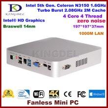 Thin client,HTPC,Intel Celeron N3150 quad core,Intel HD Graphics,USB3.0,HDMI,VGA,COM rs232,mini office computer