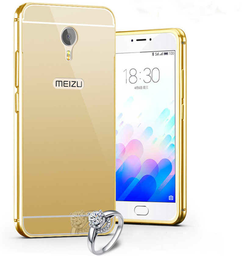 Mirror Aluminum Case For Meizu ...
