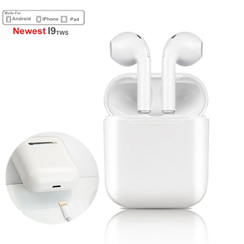 New IFANS TWS I9S Wireless Bluetooth ear earbuds headphones Twins Stereo earpods for Apple air pdos Earphones F10 Charging box ifans mini i9s twins earbuds mini wireless bluetooth earphones i7s tws air headsets pods stereo headphones for iphone android pc