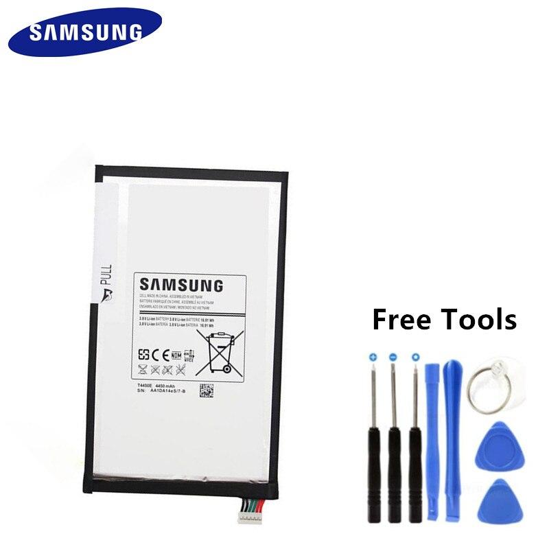 Batterie de remplacement dorigine Samsung T4450E 4450 mAh pour Samsung Tab 3 8.0 tablette batterie SM-T310 T311 T315 T4450E + outils gratuitsBatterie de remplacement dorigine Samsung T4450E 4450 mAh pour Samsung Tab 3 8.0 tablette batterie SM-T310 T311 T315 T4450E + outils gratuits