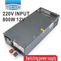800W 0V TO 12V adjustable 66A 220V Single Output Switching power supply PSU AC to DC