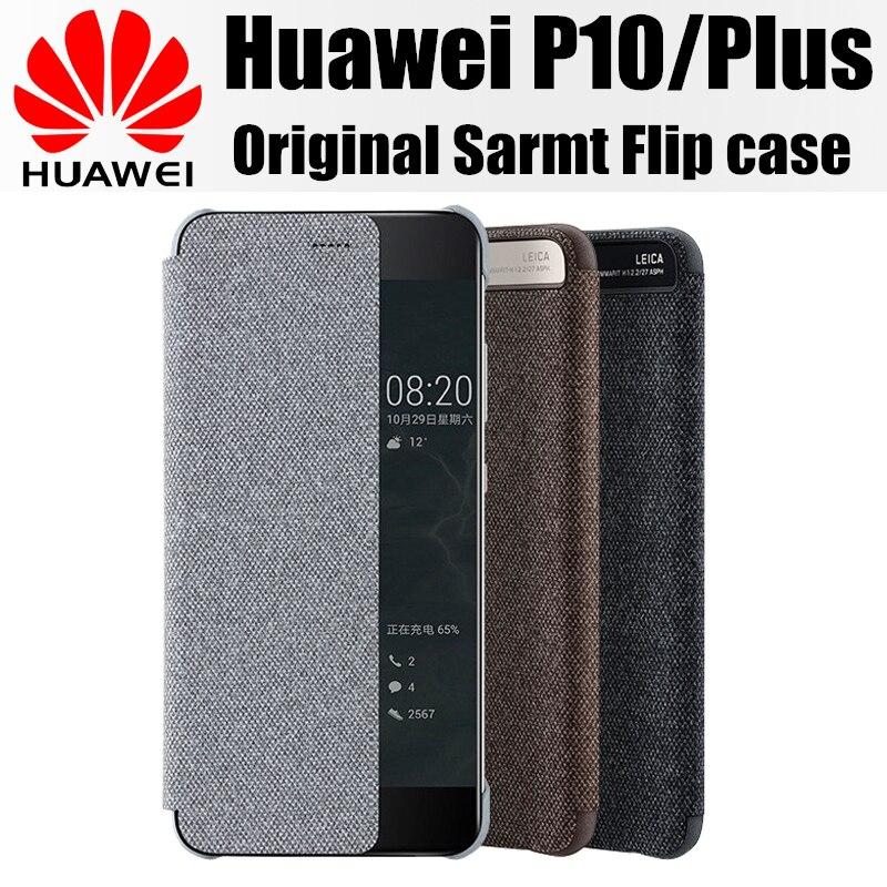 imágenes para Huawei caso original cubierta abatible inteligente ventana p10 p10 pantalla imán 100% de la empresa huawei para huawei funda más