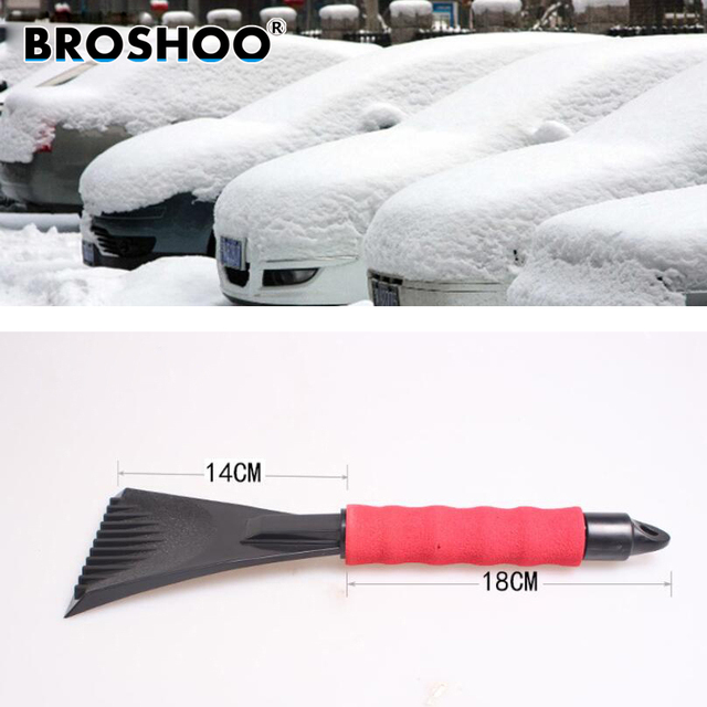 BROSHOO Auto Accessories EVA foam handle Car snow shovel Snow Shovel ...