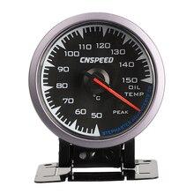 Dovewill 60 мм 2,5 'Автомобильный датчик температуры масла 7 цветов светодиодный подсветка для автомобиля грузовика 50-150 ℃