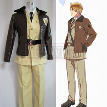 Hetalia Axis Powers America Cosplay Costume – Alfred F. Jones Cosplay Uniform