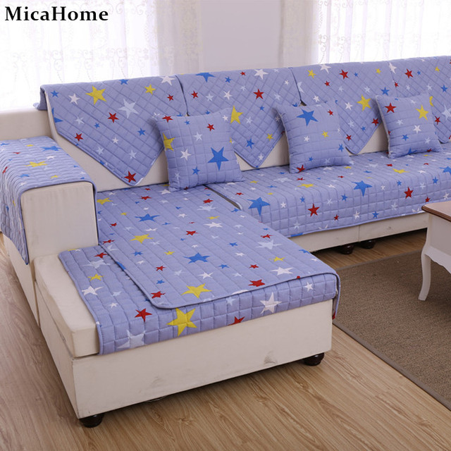 Four Seasons Cotton Sofa Cloth Twill Printing And Dyeing Pastoral Couch  Mats Modern Slip Covers Cushion