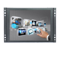 8 Inch HDMI Touch Monitor TFT LCD HD Color Screen Monitor 4 3 1024x768 With AV