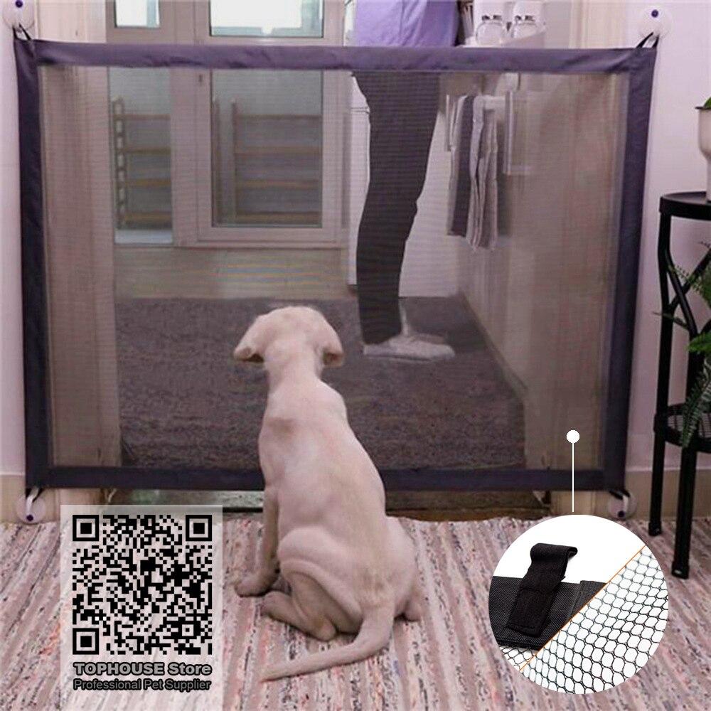 Собака заборы Волшебные ворота Складной Безопасный охранник и установить собака защитный кожух собака заборы