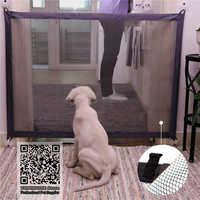 Pet Dog Fences Magic Gate Folding Safe Guard and Install Pet Dog Safety Enclosure Dog Fences