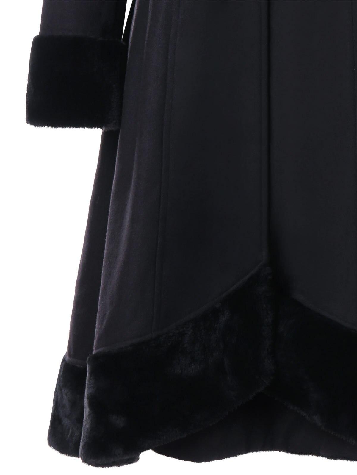 Double Breasted Black 2018 Taille Et La V Spéciale Gaine Manteau Mode Mince Automne Femme Solide En Réglable cou Long Femelle Hiver Offre jLMVpGqSUz