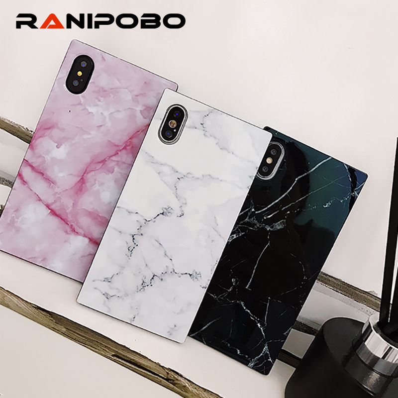 Marble Texture Pattern Phone Cases For iPhone 8 Plus Glossy Soft TPU Silicone  Case For iPhone X 8 7 6S 6 Plus Back Cover Coque-in Fitted Cases from ... cbb2547bf9c7