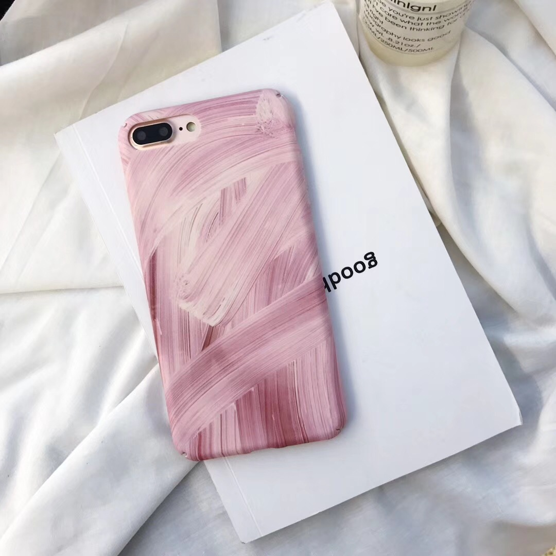 Cool Pink Paint Plastic Case For OPPO F5 F1S F1 F3 Plus A3 A1 A83 A79 A73 A77 A59 A57 A39 R11 R11S Plus R15 Dream Mirror Cover