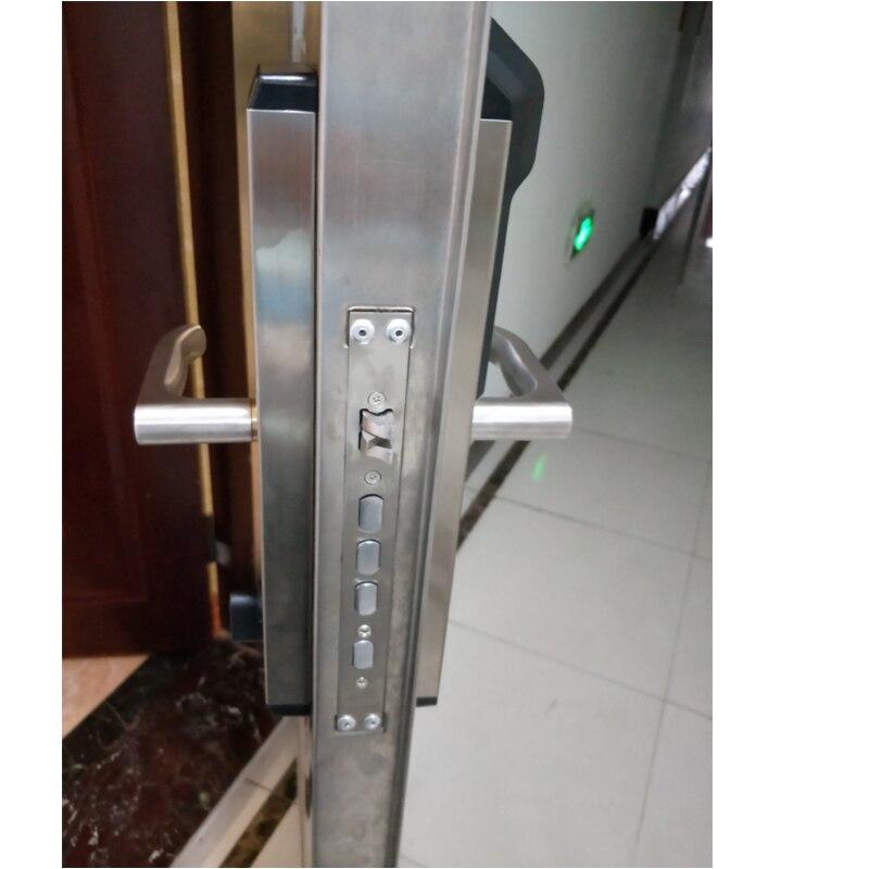 RAYKUBE электронный дверной замок с отпечатком пальца домашний Противоугонный замок проверка отпечатков пальцев интеллектуальный замок с пар... - 5